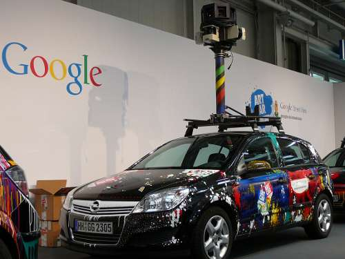Google Street View Auto Künstleredition