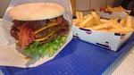 Color Fantasy - Double Cheeseburger mit Bacon