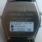Martian Notifier Rückseite