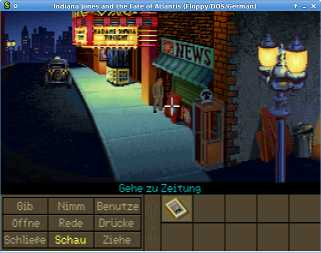 Indiana Jones and the Fate of Atlantis - Linux ScummVM