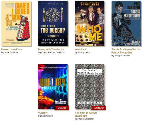 StoryBundle - The (Unofficial) Doctor Who Bundle