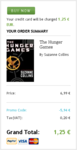 The Hunger Games Promo Checkout