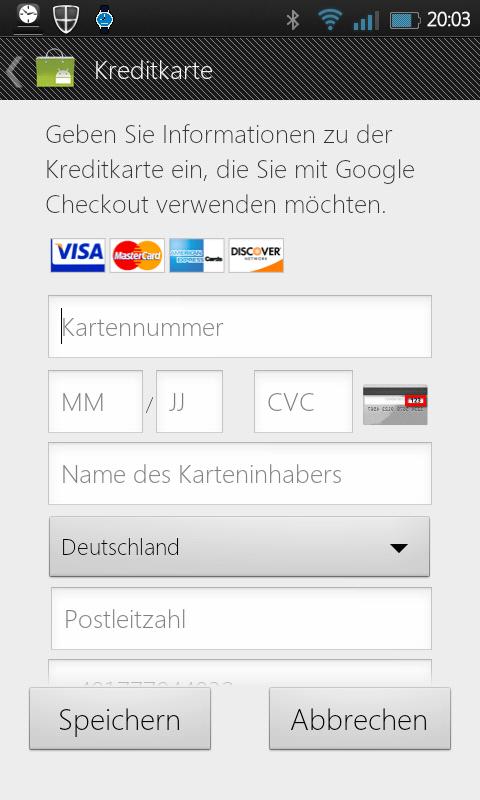 wirecard kreditkarte login