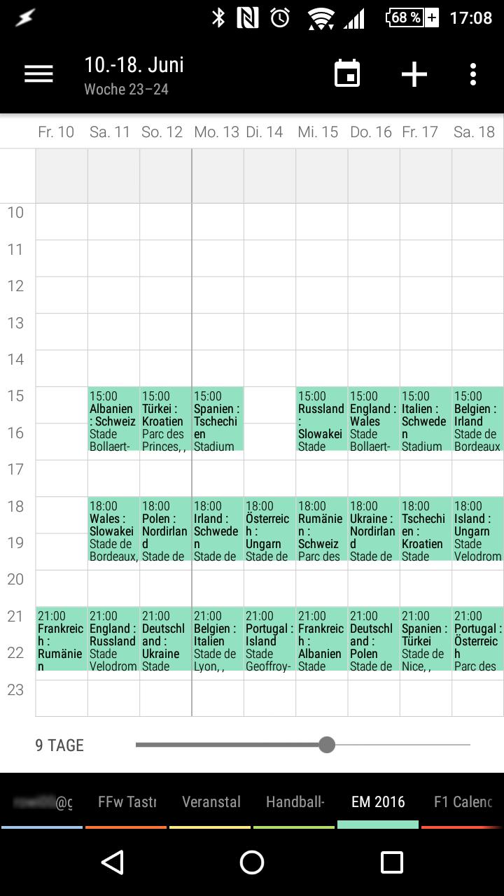 fußball em kalender