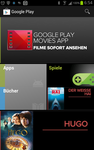 Play Store mit Movies