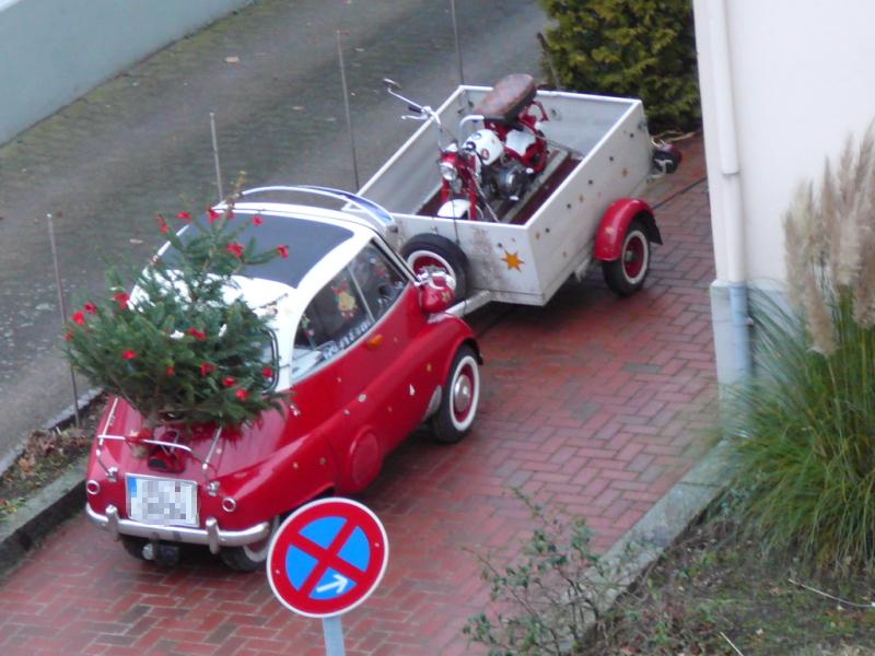Der Weihnachtsmann Fahrt Isetta Der Standardleitweg