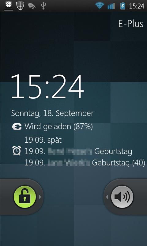 Calendar Lockscreen : Wochenendliche android app vorstellung folge der